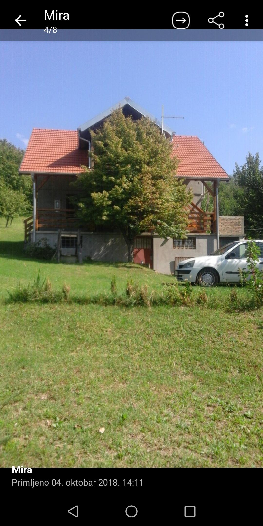 Exstra vikendica na Fruškoj Gori, plac 35 ari, uknjižena