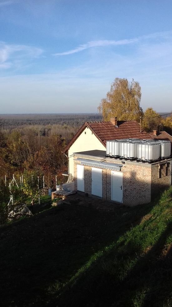 Vikendica, pogled na Dunav, Čortanovci, plac 30 ari