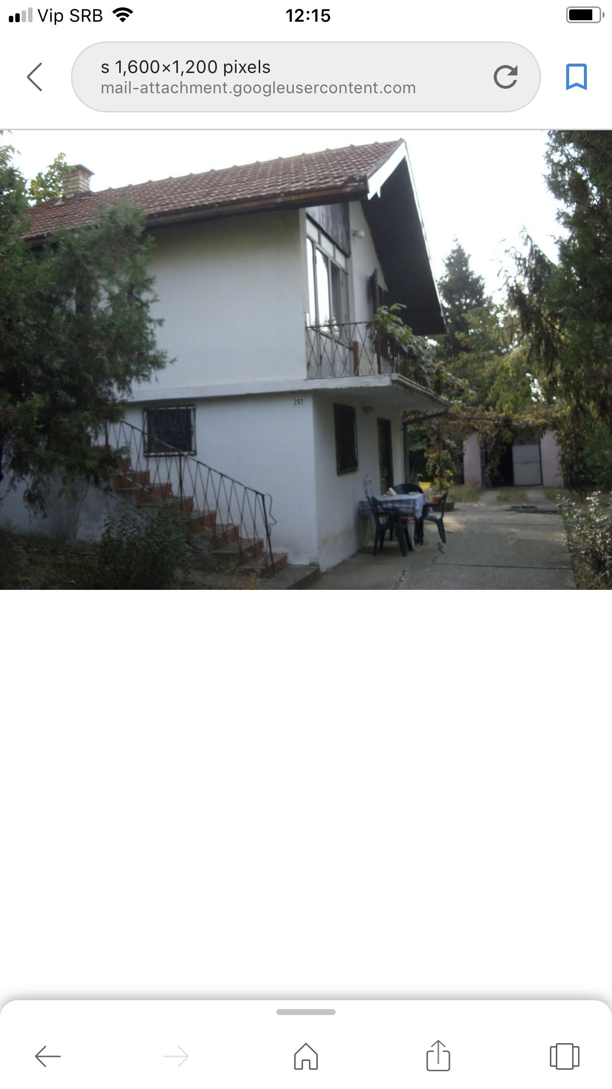 Vikendica 53 m2-Krčedin