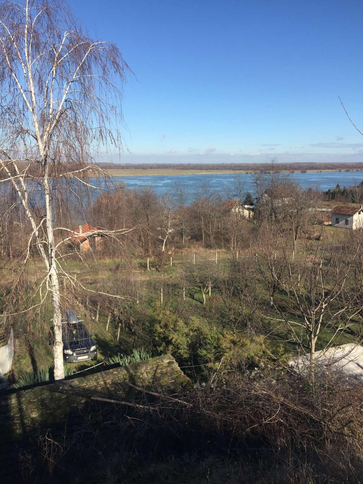 Vikendica 60 m2, Beška, pogled na Dunav